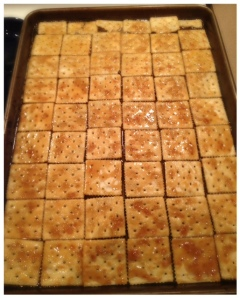 prebaked crackers